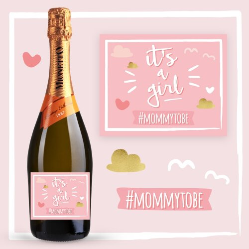 IT'S A GIRL PROSECCO MIONETTO D.O.C. TREVISO