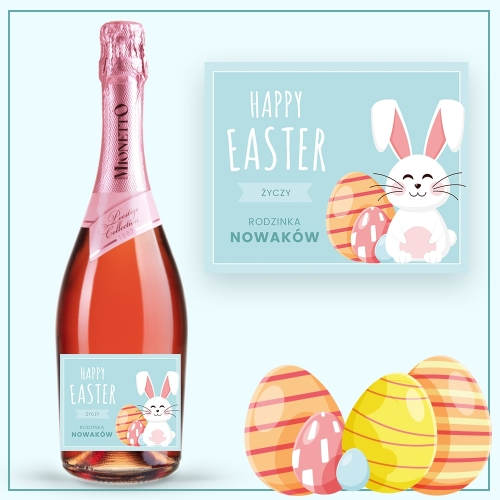 HAPPY EASTER PROSECCO MIONETTO ROSÉ