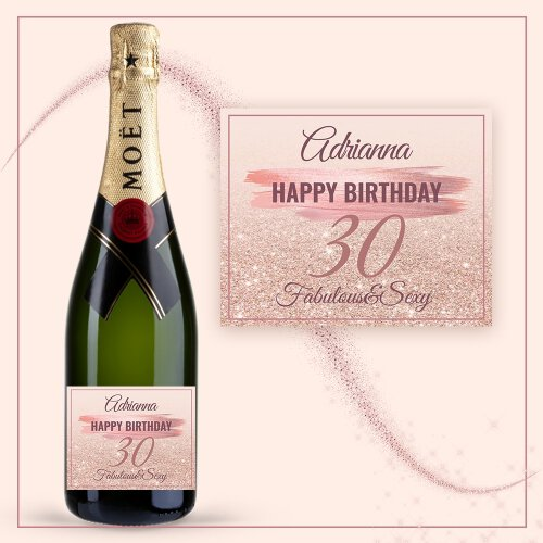BIRTHDAY GIRL SZAMPAN MOËT & CHANDON BRUT IMPERIAL