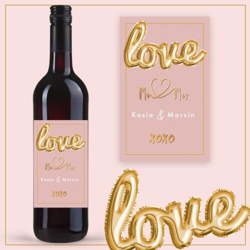 LOVE MR&MRS WINO COCOON ZINFANDEL