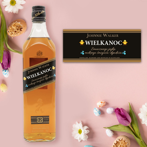 WIELKANOC JOHNNIE WALKER BLACK LABEL