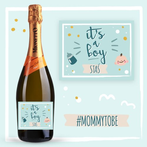 IT'S A BOY PROSECCO MIONETTO D.O.C. TREVISO