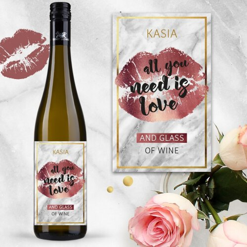 ALL YOU NEED IS LOVE AND WINE WINO ERNST LUDWIG RIESLING