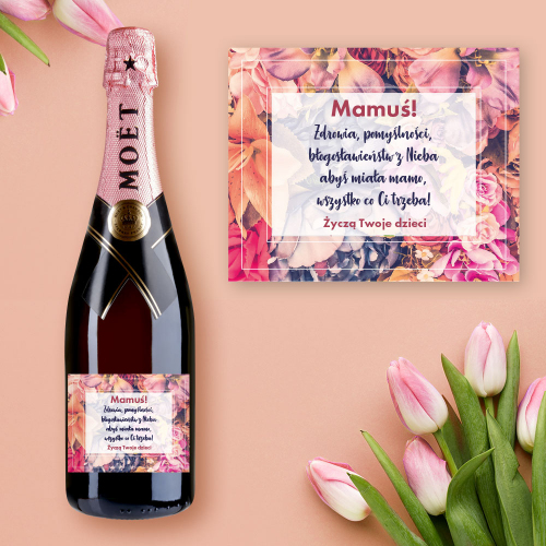 MAMUŚ! SZAMPAN MOËT & CHANDON ROSE IMPERIAL