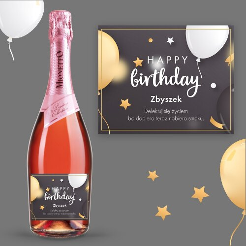 HAPPY BIRTHDAY PROSECCO MIONETTO ROSÉ