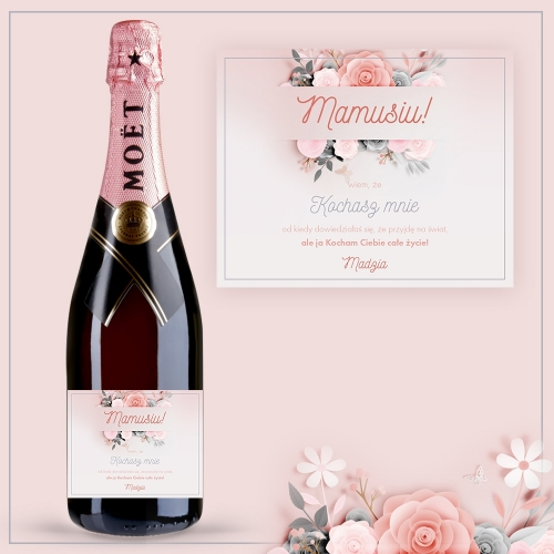KOCHANA MAMUSIU! SZAMPAN MOËT & CHANDON ROSE IMPERIAL