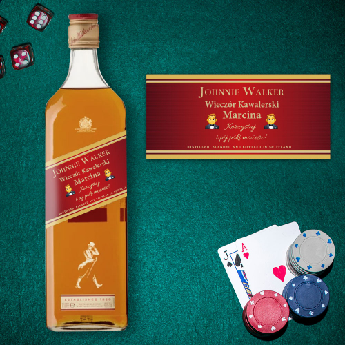 WIECZÓR KAWALERSKI JOHNNIE WALKER RED LABEL