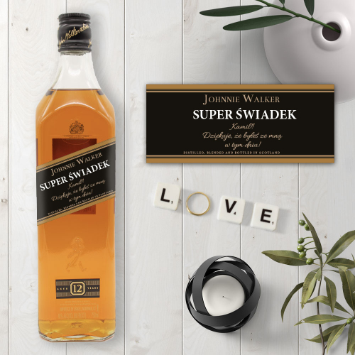 SUPER ŚWIADEK JOHNNIE WALKER BLACK LABEL