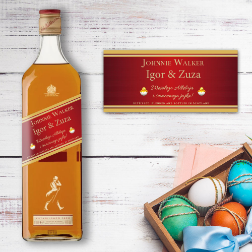 WIELKANOC JOHNNIE WALKER RED LABEL