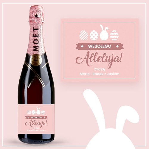 ALLELUJA! SZAMPAN MOËT & CHANDON ROSE IMPERIAL