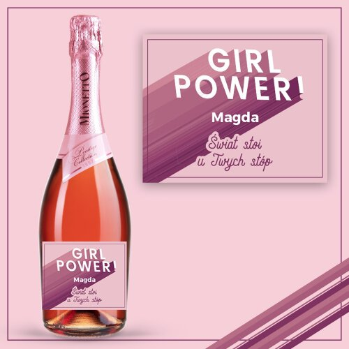 GIRL POWER PROSECCO MIONETTO ROSÉ