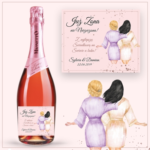 BEST FRIENDS PROSECCO MIONETTO ROSÉ
