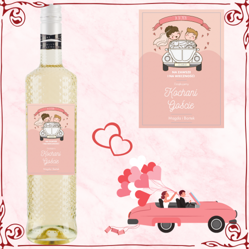 JUST MARRIED ALLURE PINOT GRIGIO