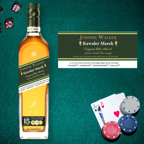 WIECZÓR KAWALERSKI JOHNNIE WALKER GREEN LABEL
