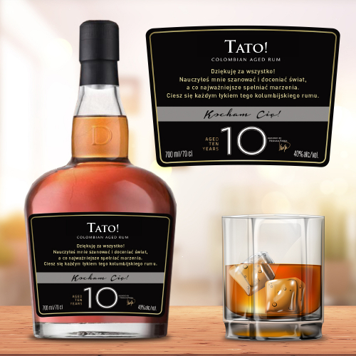 TATO! DICTADOR COLOMBIAN AGED RUM