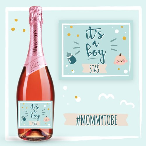 IT'S A BOY PROSECCO MIONETTO ROSÉ
