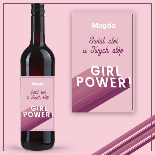 GIRL POWER WINO COCOON ZINFANDEL