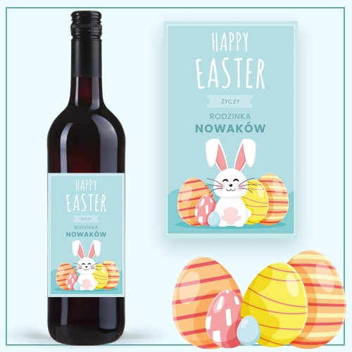 HAPPY EASTER WINO COCOON ZINFANDEL