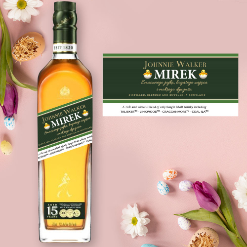WIELKANOC JOHNNIE WALKER GREEN LABEL