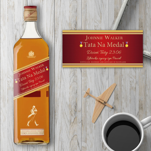 TATA NA MEDAL JOHNNIE WALKER RED LABEL