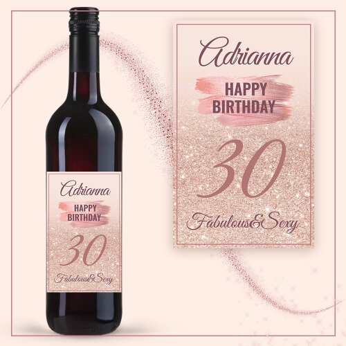 BIRTHDAY GIRL WINO COCOON ZINFANDEL