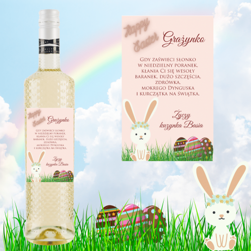 HAPPY EASTER PINK ALLURE PINOT GRIGIO