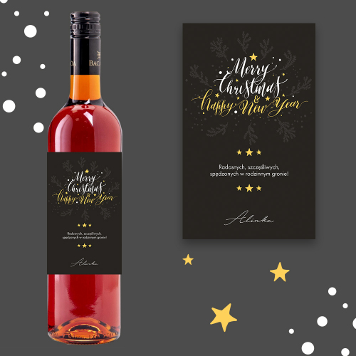 MERRY CHRISTMAS & HAPPY NEW YEAR MOSCATEL DE SETUBAL