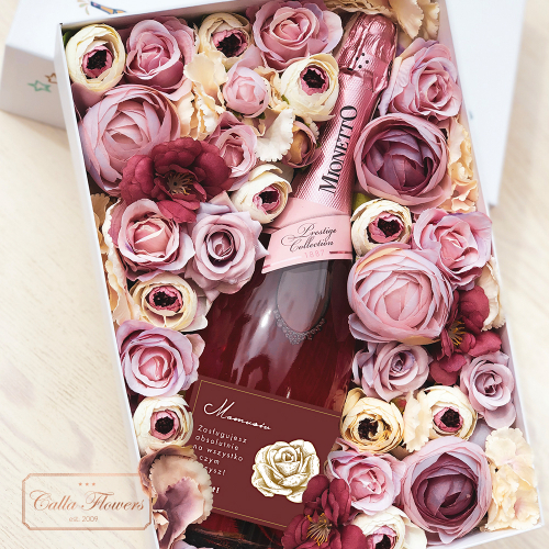 MAMUSIU MIONETTO ROSÉ FLOWER BOX BY CALLA