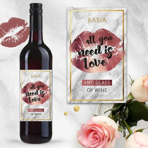 ALL YOU NEED IS LOVE AND WINE WINO COCOON ZINFANDEL
