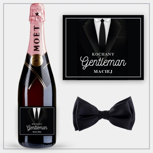 GENTLEMAN SZAMPAN MOËT & CHANDON ROSE IMPERIAL