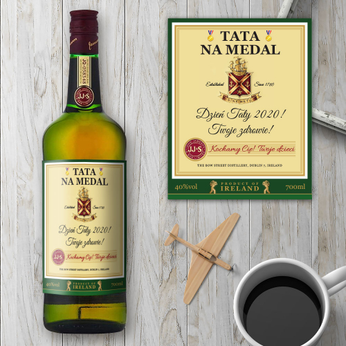 TATA NA MEDAL JAMESON IRISH