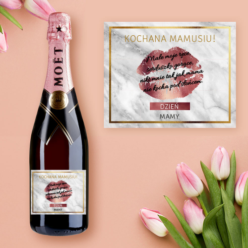 MAMA USTA SZAMPAN MOËT & CHANDON ROSE IMPERIAL