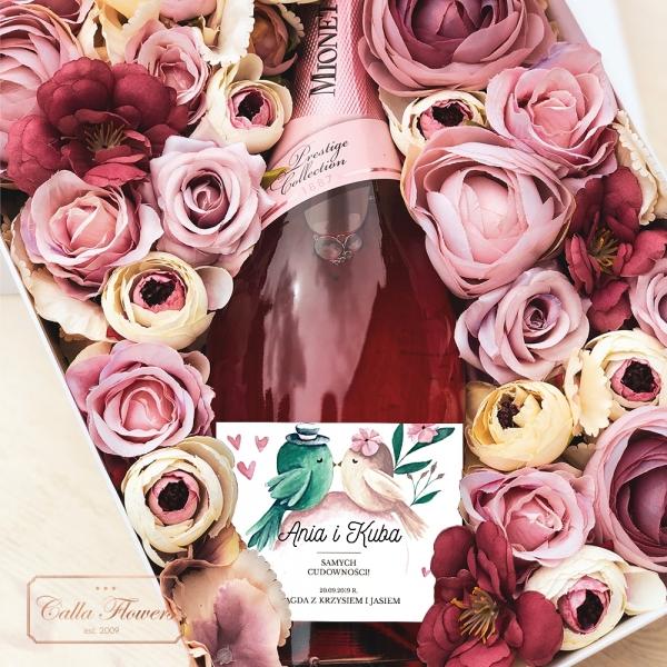 GOŁĄBECZKIMIONETTO ROSÉ FLOWER BOX BY CALLA