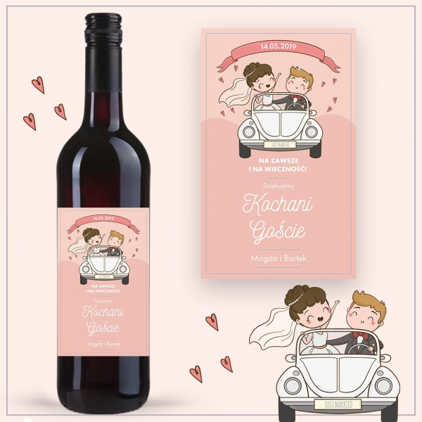 JUST MARRIED WINO COCOON ZINFANDEL
