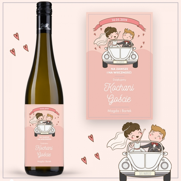 JUST MARRIED WINO ERNST LUDWIG RIESLING